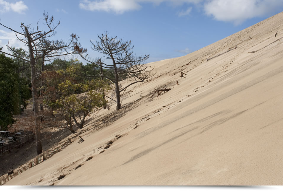 From grain of sand to dune